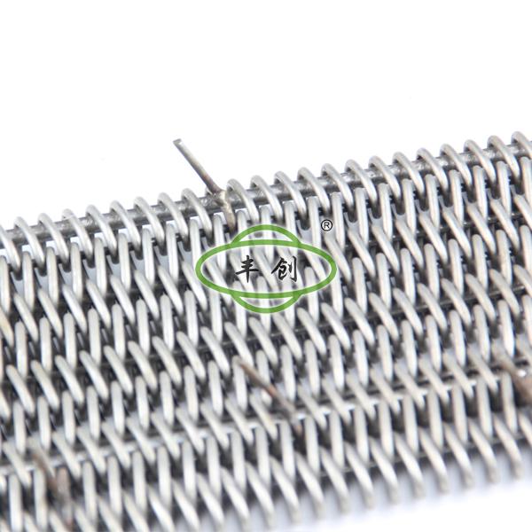 带顶针式平衡型网带