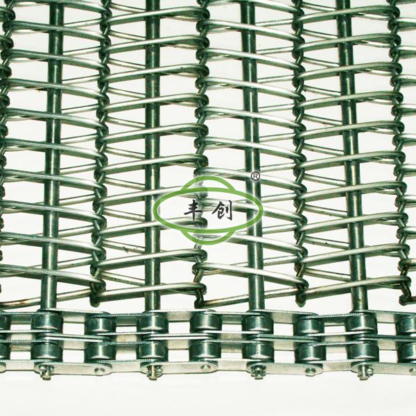 双排链条式网带